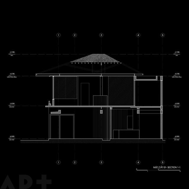 [Ảnh] Thiết kế đặc biệt giúp ngôi nhà ở TP HCM chống lại nắng nóng - Ảnh 15.