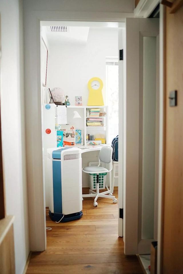 Căn hộ 27m² cũ rích, vừa hẹp vừa dài biến hình thành không gian hiện đại dành cho gia đình 5 người sau cải tạo - Ảnh 18.