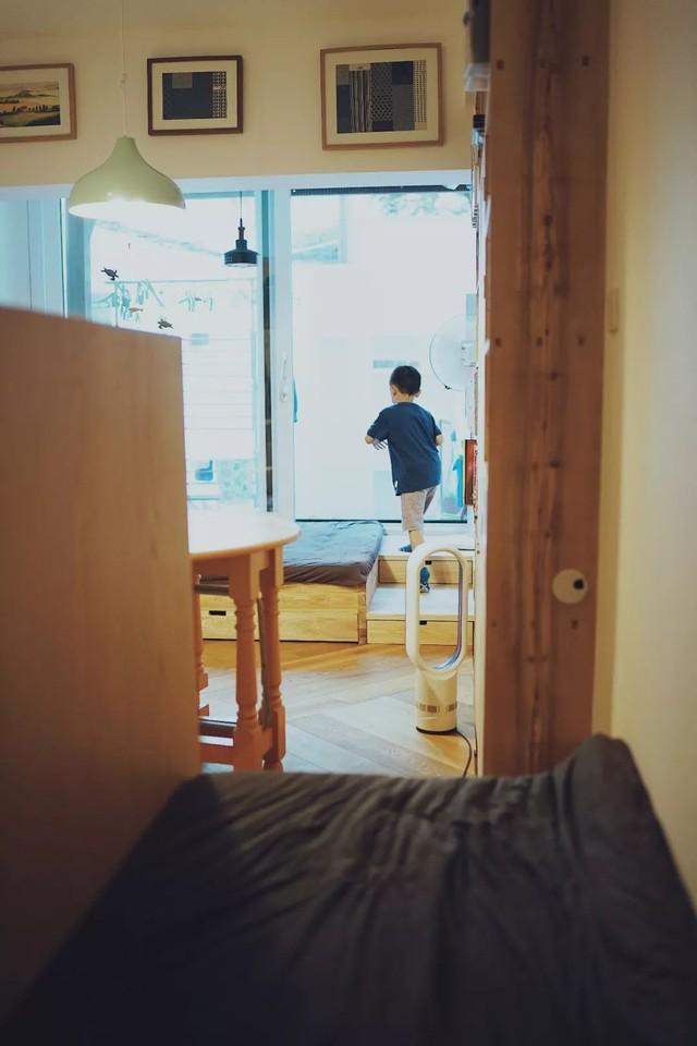 Căn hộ 27m² cũ rích, vừa hẹp vừa dài biến hình thành không gian hiện đại dành cho gia đình 5 người sau cải tạo - Ảnh 19.