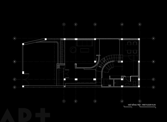 [Ảnh] Thiết kế đặc biệt giúp ngôi nhà ở TP HCM chống lại nắng nóng - Ảnh 4.