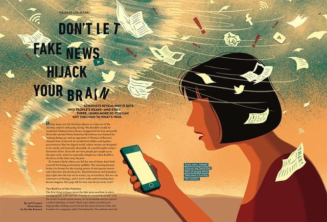 Fake News: Chúng đầu độc não bộ của chúng ta như thế nào và đây là cách để tránh - Ảnh 1.
