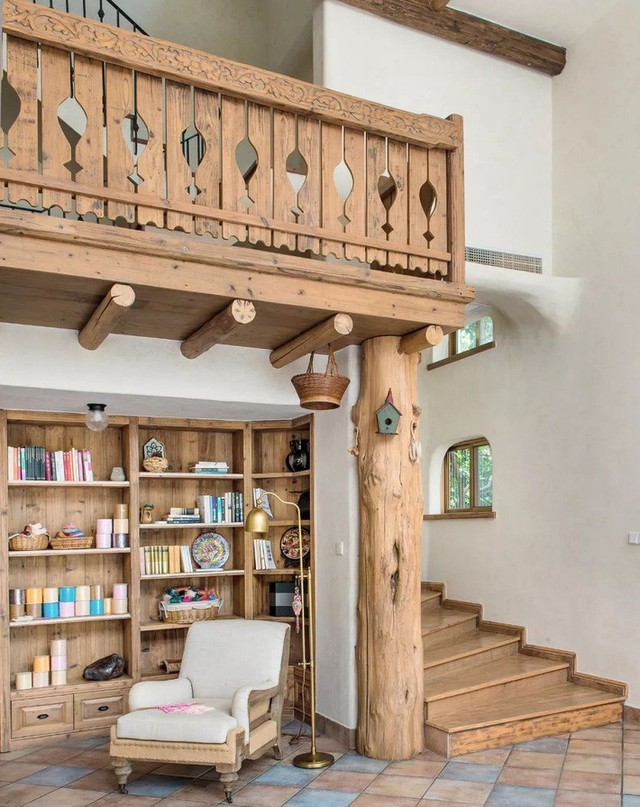Mẹ đơn thân cùng hai con bỏ phố về quê, tận dụng áo len hỏng cùng gỗ tái chế để cải tạo ngôi nhà cũ thành không gian sống yên bình - Ảnh 8.