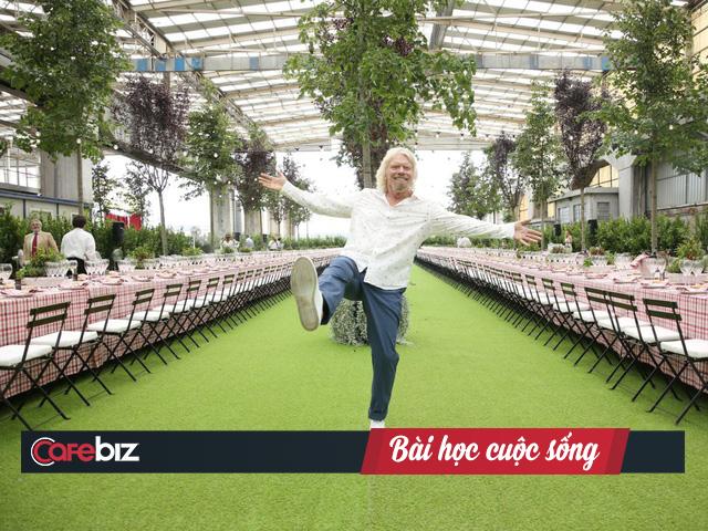 Richard Branson - vị tỷ phú luôn đặt mình trong chế độ hạnh phúc: Đừng làm việc để sống, mà hãy sống để tận hưởng công việc! - Ảnh 1.
