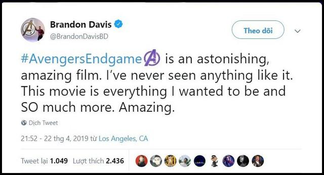 Những khán giả đầu tiên xem Endgame bật khóc: Phim bom tấn đỉnh cao nhất, xúc động nhất từ trước tới nay! - Ảnh 1.