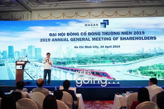 Chủ tịch Masan Nguyễn Đăng Quang nói gì khi được hỏi về vấn đề tương ớt Chin-su tại Đại hội cổ đông? - Ảnh 1.