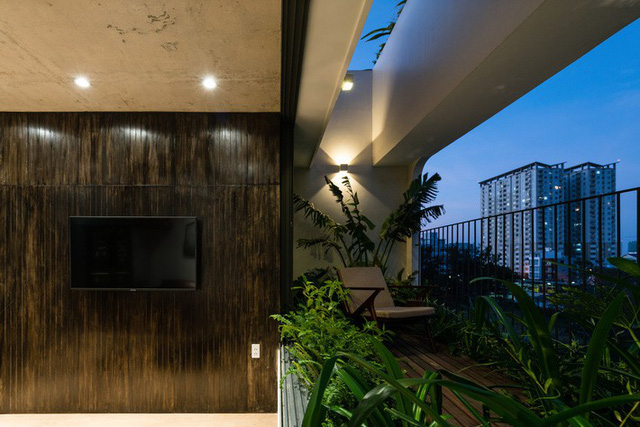 Ngôi nhà 7 tầng vừa ở vừa cho thuê với những khu vườn treo rất nên thơ ở Vũng Tàu - Ảnh 11.