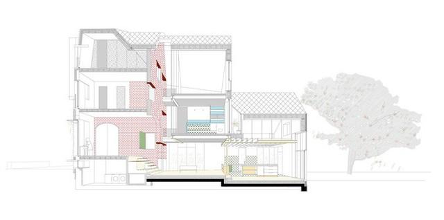 Ngôi nhà gần 100 năm tuổi đẹp ngỡ ngàng sau khi được cải tạo - Ảnh 12.