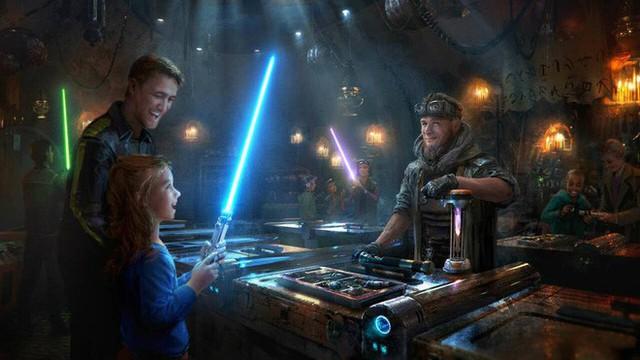 Toàn cảnh công viên Disney tỷ đô phong cách Chiến tranh giữa các vì sao trước ngày mở cửa chính thức - Ảnh 12.