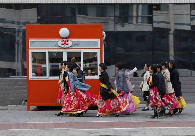 Vẻ đẹp Triều Tiên qua ống kính của phóng viên TTXVN - Ảnh 6.