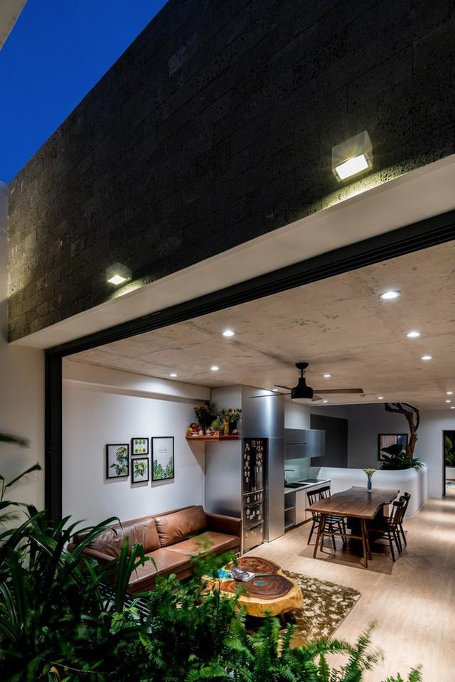 Ngôi nhà 7 tầng vừa ở vừa cho thuê với những khu vườn treo rất nên thơ ở Vũng Tàu - Ảnh 9.