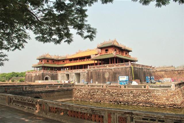 Clip: Diện mạo mới của cổng Ngọ Môn ở Đại Nội Huế sau khi được lột bỏ bụi thời gian - Ảnh 15.