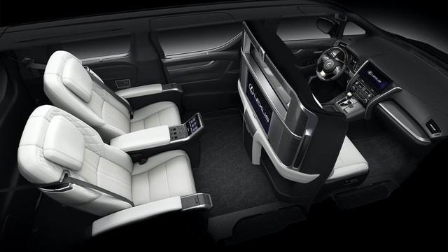Lexus ra mắt xe chở khách với nội thất xa xỉ - Ảnh 6.