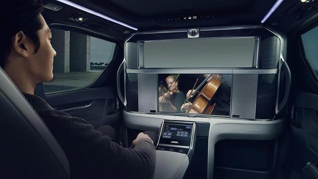 Lexus ra mắt xe chở khách với nội thất xa xỉ - Ảnh 7.