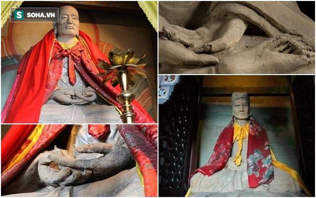 Giai thoại kỳ bí về ngôi miếu kỳ dị nhất TQ: Bên trong mỗi pho tượng là 1 thân người! - Ảnh 2.