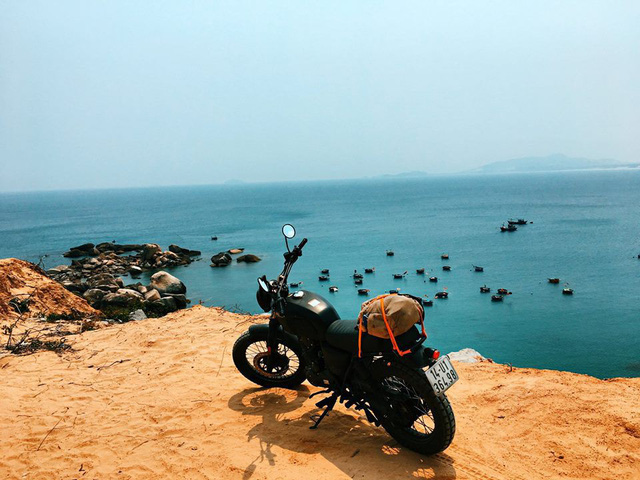 9x cùng câu chuyện độc hành xuyên Việt trên chiếc xe máy: Đi thôi, để thấy Việt Nam mình thực sự xinh đẹp! - Ảnh 13.