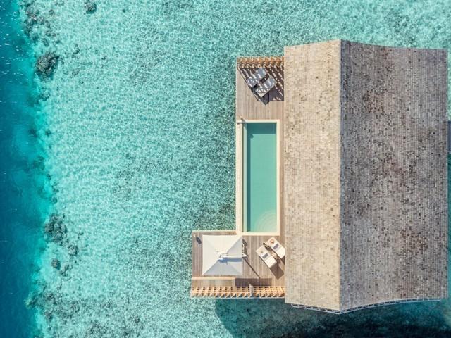 Cận cảnh hòn đảo sang trọng nhất thế giới, chỉ dành cho người lớn ở Maldives - Ảnh 14.
