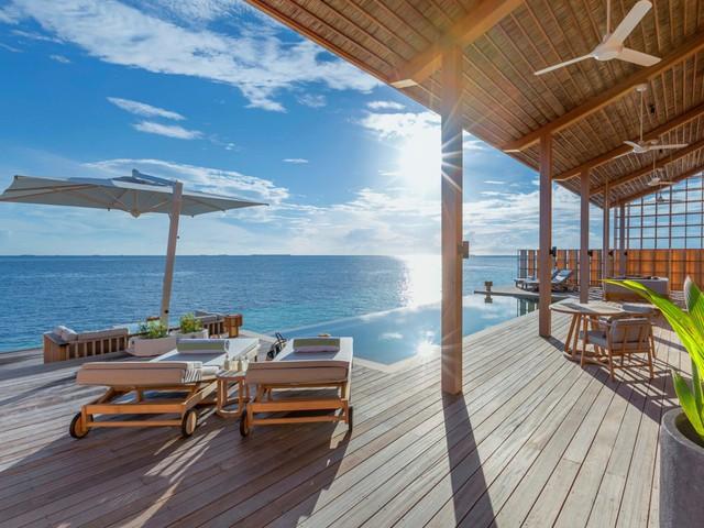 Cận cảnh hòn đảo sang trọng nhất thế giới, chỉ dành cho người lớn ở Maldives - Ảnh 2.