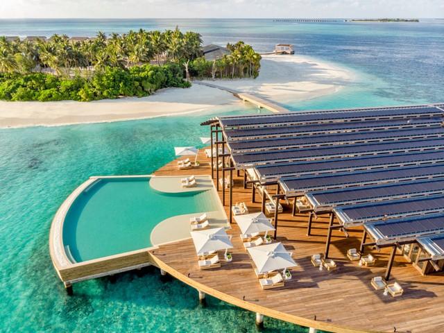 Cận cảnh hòn đảo sang trọng nhất thế giới, chỉ dành cho người lớn ở Maldives - Ảnh 3.