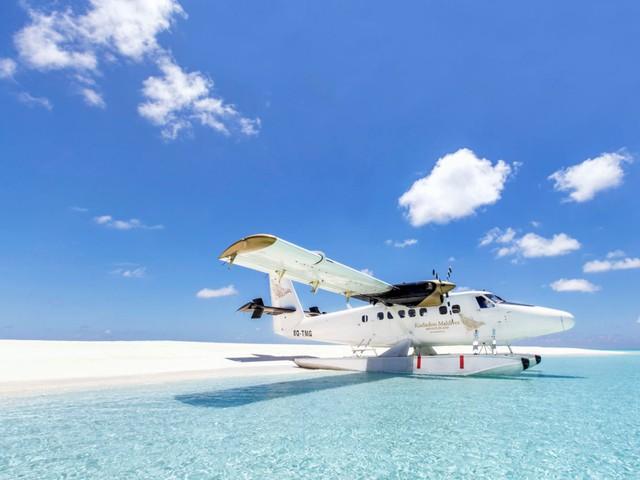 Cận cảnh hòn đảo sang trọng nhất thế giới, chỉ dành cho người lớn ở Maldives - Ảnh 4.