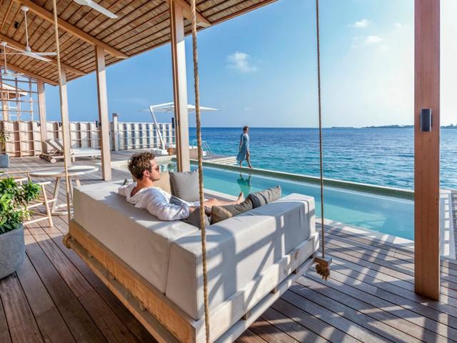 Cận cảnh hòn đảo sang trọng nhất thế giới, chỉ dành cho người lớn ở Maldives - Ảnh 5.