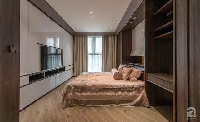 Cùng xem căn hộ 127m² có tổng chi phí thi công và hoàn thiện là 1,3 tỷ đồng ở Hà Nội này đặc biệt như thế nào - Ảnh 18.