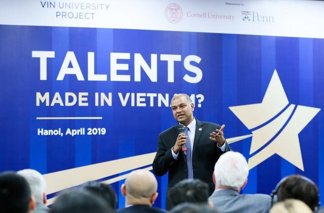 Đại học VinUni của Vingroup công bố vị hiệu trưởng đầu tiên, là bậc thầy diễn giảng tại trường hàng đầu nước Mỹ - Ảnh 3.