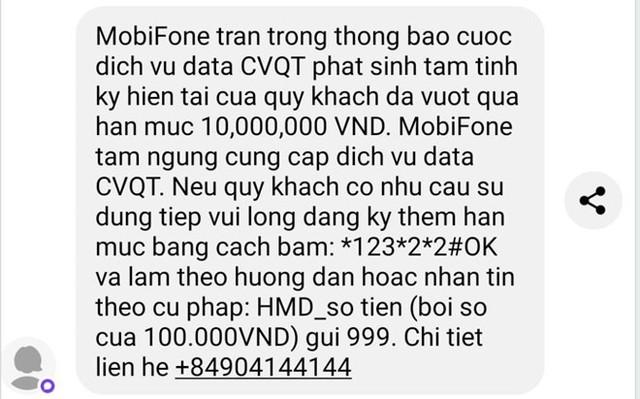 Chỉ ở Việt Nam, khách được nhà mạng báo cước chuyển vùng 10 triệu - Ảnh 1.