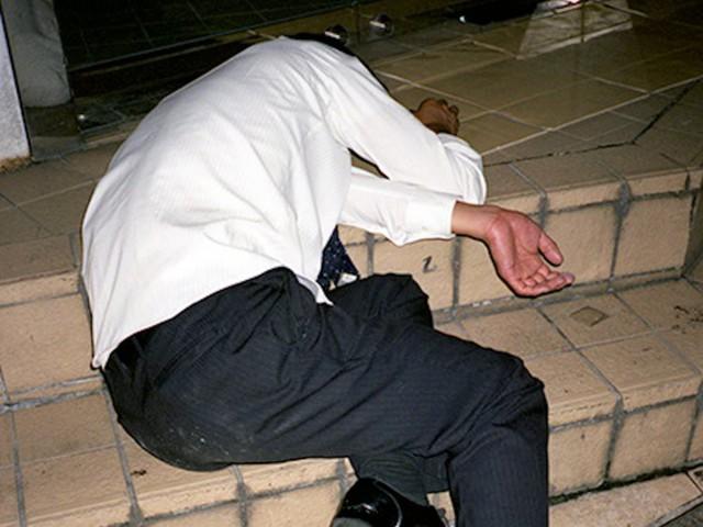 Chùm ảnh cho thấy văn hóa làm việc khắc nghiệt nhất thế giới của Nhật Bản - Ảnh 27.
