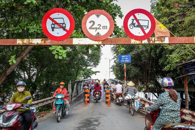 Ngắm cây cầu bằng thép Eiffel hơn 100 tuổi ở Sài Gòn trước ngày khai tử, kinh phí tháo dỡ tốn 14,8 tỷ đồng - Ảnh 8.