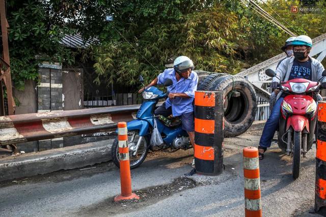 Ngắm cây cầu bằng thép Eiffel hơn 100 tuổi ở Sài Gòn trước ngày khai tử, kinh phí tháo dỡ tốn 14,8 tỷ đồng - Ảnh 9.