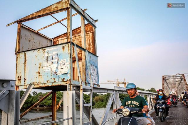 Ngắm cây cầu bằng thép Eiffel hơn 100 tuổi ở Sài Gòn trước ngày khai tử, kinh phí tháo dỡ tốn 14,8 tỷ đồng - Ảnh 16.
