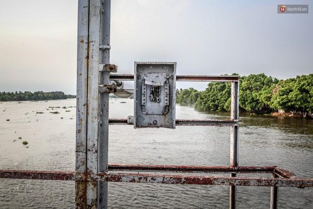 Ngắm cây cầu bằng thép Eiffel hơn 100 tuổi ở Sài Gòn trước ngày khai tử, kinh phí tháo dỡ tốn 14,8 tỷ đồng - Ảnh 17.