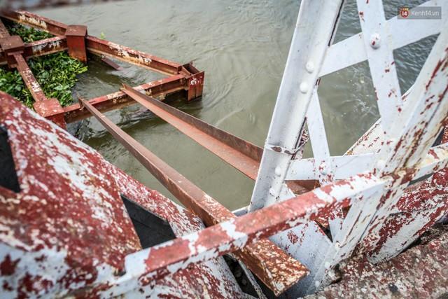 Ngắm cây cầu bằng thép Eiffel hơn 100 tuổi ở Sài Gòn trước ngày khai tử, kinh phí tháo dỡ tốn 14,8 tỷ đồng - Ảnh 20.
