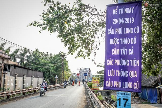 Ngắm cây cầu bằng thép Eiffel hơn 100 tuổi ở Sài Gòn trước ngày khai tử, kinh phí tháo dỡ tốn 14,8 tỷ đồng - Ảnh 6.