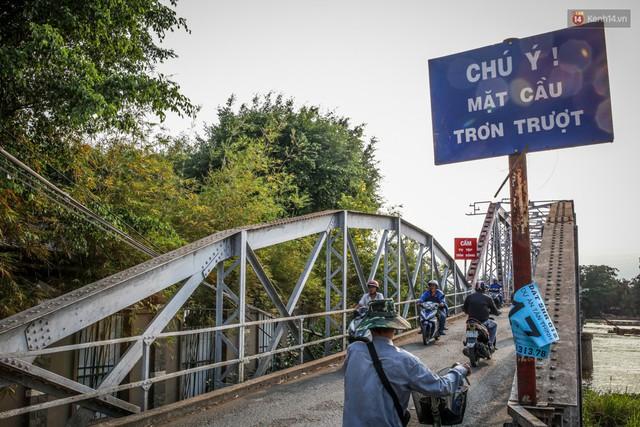 Ngắm cây cầu bằng thép Eiffel hơn 100 tuổi ở Sài Gòn trước ngày khai tử, kinh phí tháo dỡ tốn 14,8 tỷ đồng - Ảnh 7.