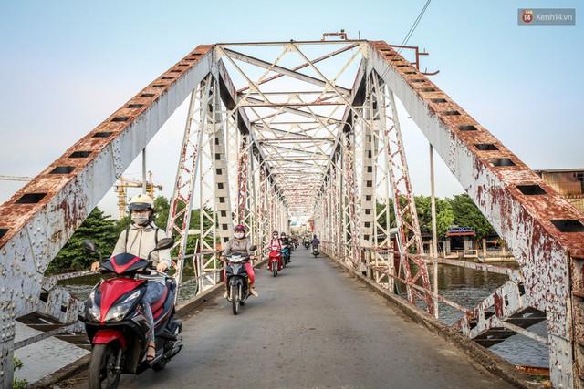 Ngắm cây cầu bằng thép Eiffel hơn 100 tuổi ở Sài Gòn trước ngày khai tử, kinh phí tháo dỡ tốn 14,8 tỷ đồng - Ảnh 11.