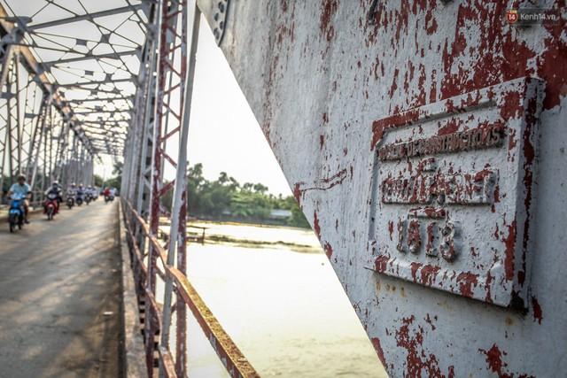 Ngắm cây cầu bằng thép Eiffel hơn 100 tuổi ở Sài Gòn trước ngày khai tử, kinh phí tháo dỡ tốn 14,8 tỷ đồng - Ảnh 12.