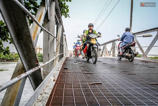 Ngắm cây cầu bằng thép Eiffel hơn 100 tuổi ở Sài Gòn trước ngày khai tử, kinh phí tháo dỡ tốn 14,8 tỷ đồng - Ảnh 14.
