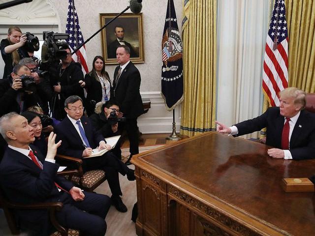 Chỉ là bức ảnh bình thường tại Nhà Trắng nhưng lại tiết lộ nhiều điều của quan hệ Trung-Mỹ - Ảnh 1.
