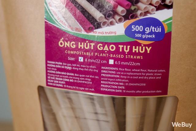 Dùng thử ống hút bột gạo Made in Sa Đéc đang hot: 10 điểm thân thiện môi trường nhưng chỉ 5 điểm thân thiện với người dùng - Ảnh 3.