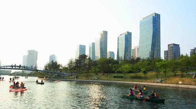 Ở Hàn Quốc, người ta đang xây dựng một thành phố hiện đại, loại bỏ hoàn toàn nhu cầu sử dụng ô tô - Ảnh 13.