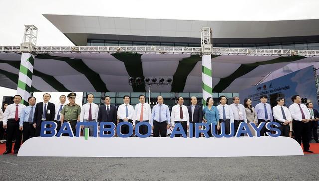 Bamboo Airways khai trương cùng lúc 3 đường bay mới từ Hải Phòng - Ảnh 1.