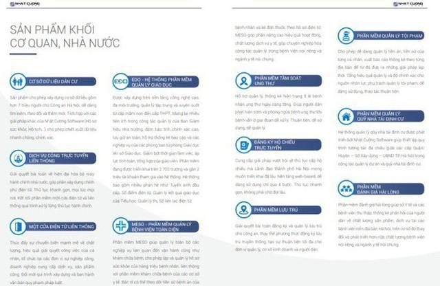 Nhật Cường vừa bị công an khám xét cung cấp nhiều sản phẩm cho chính quyền điện tử Hà Nội - Ảnh 2.