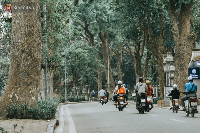 Chiều chiều đảo vài vòng giữa phố xá Hà Nội mà ngỡ như cuối Đông - Tết sắp về - Ảnh 11.