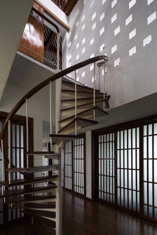 [Ảnh] Ngôi nhà hình bậc thang, phá vỡ mọi quy tắc xây dựng ở Vĩnh Phúc - Ảnh 7.