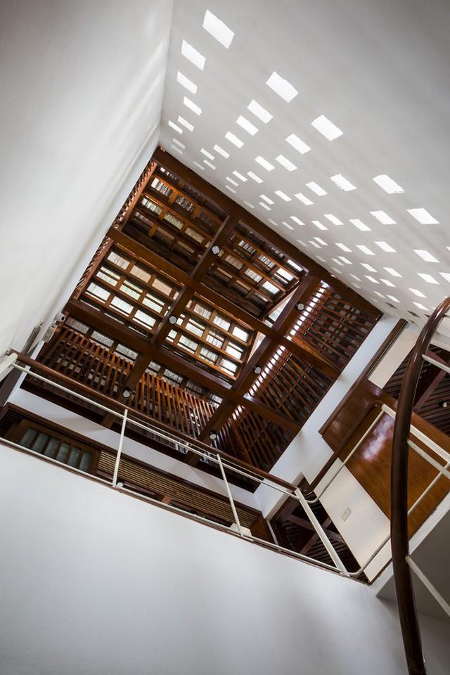[Ảnh] Ngôi nhà hình bậc thang, phá vỡ mọi quy tắc xây dựng ở Vĩnh Phúc - Ảnh 10.
