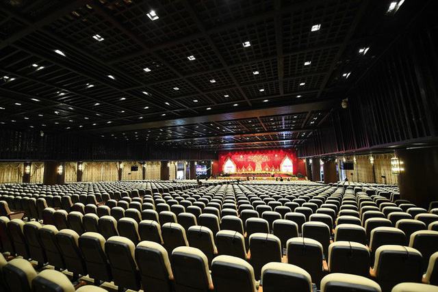 Hội trường sức chứa 3.000 người chùa Tam Chúc sẵn sàng cho giờ khai mạc Vesak - Ảnh 4.