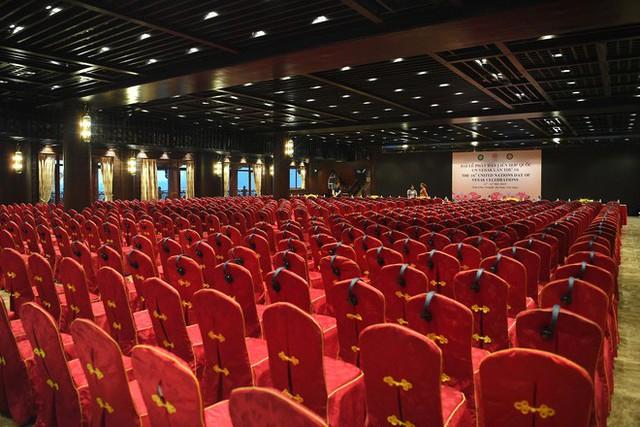 Hội trường sức chứa 3.000 người chùa Tam Chúc sẵn sàng cho giờ khai mạc Vesak - Ảnh 9.