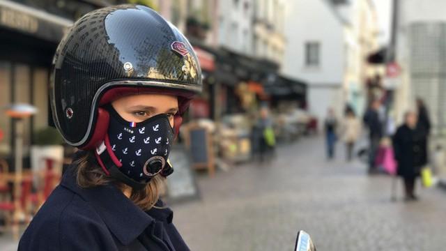 Startup Pháp mang khẩu trang chống ô nhiễm cao cấp đến châu Á, giá 5 triệu VNĐ/chiếc - Ảnh 1.