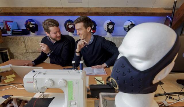 Startup Pháp mang khẩu trang chống ô nhiễm cao cấp đến châu Á, giá 5 triệu VNĐ/chiếc - Ảnh 2.